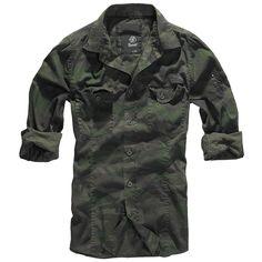 Slim Fit Shirt - Overhemd van Brandit - Artikelnummer: 245423 - vanaf 29,99 € - Large Popmerchandising