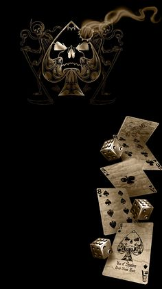 Dead Mans Hand Apple iPhone hd wallpapers available for f Iphone 5s Hintergrundbilder, Apple Iphone, Skull Wallpaper, Dark Wallpaper, Galaxy Wallpaper, Mafia Wallpaper, Dead Mans Hand Tattoo, Ace Card, Playing Cards Art