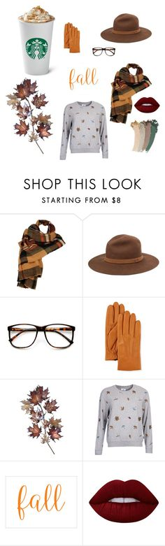 """""""Fall accessories"""" by sweetlittlebunny on Polyvore featuring moda, Wilsons Leather, rag & bone, ZeroUV, UGG, C. Jeré, Barbour, Lime Crime i Gucci"""
