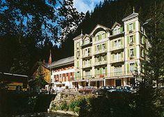 Hotel Rosenlaui / Berner Oberland / Schweiz - kick off inn to inn hike thru alps Grindelwald, Alps, To Go, Around The Worlds, Hiking, Mansions, Landscape, House Styles, City