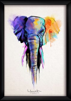 Art design elephant