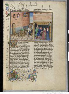 Fol 204r. Decameron. Boccace. Laurent de Premierfait. 15th c. Ms-5070