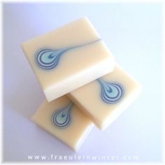 Teardrop Soap Technique - Handmade by Fräulein Winter