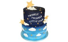 How to make an Twinkle Twinkle Little Star Cake