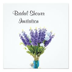 bridal shower invitations lavender cheap inexpensive bridal shower party card