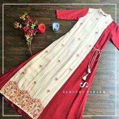 Design Print Portfolio Simple Ideas For 2019 Kurti Designs Party Wear, Kurta Designs, Blouse Designs, Indian Designer Outfits, Designer Dresses, Indian Dresses, Indian Outfits, Casual Dresses, Fashion Dresses