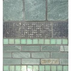 Jade Slate / Pewter / Seafoam Green Concept Board from Stone & Pewter Accents