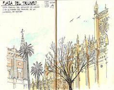 Plaza del triunfo diciembre   Flickr - Photo Sharing!