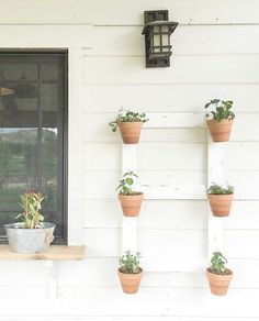 DIY Farmhouse Style Wall Planter
