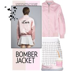 Winter Style: Bomber Jackets by meyli-meyli on Polyvore featuring moda, Tomas Maier, Vans and bomberjackets