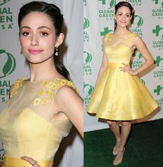 Emmy Rossum Global Green Party