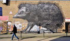 Street Art em Londres;