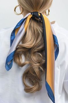 27 Scarf Hairstyles – Pretty Ways To Style Your Hair With A Scarf - Hair and Beauty eye makeup Ideas To Try - Nail Art Design Ideas Scarf Hairstyles, Pretty Hairstyles, Braided Hairstyles, Holiday Hairstyles, Evening Hairstyles, Hairstyle Ideas, Braided Locs, Famous Hairstyles, Fashion Hairstyles