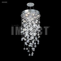 Crystal Rain Chandelier : 40411S22 | Lighting Depot