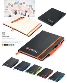 Notebook and Pen Gift Set, Branded Pen and Notebook Corporate Gifts South Africa