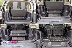 Mitsubishi Shogun/Montero SG3 review boot seating seats interior - fold into floor rear seats