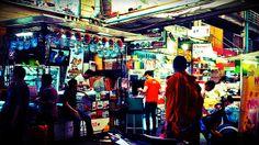 Monk in a shop