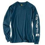 Carhartt Men's Long Sleeve Graphic Logo T-shirt