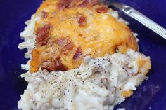 Fully Loaded Hash Brown Casserole recipe from Everyday Made Fresh. My family would devour this! Bacon and cheese - yum! Perfect idea for back to school dinners!