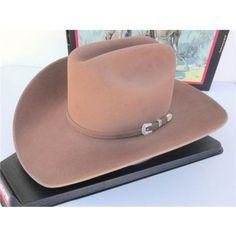 111acb0c741 Stetson Cowboy Hat 4X Beaver Fur Felt Sahara Skyline