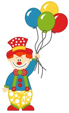 Palhaos de circo - Search result: 120 cliparts for Palhaos de circo Carnival Birthday Parties, Circus Birthday, Circus Theme, Circus Party, Clown Party, Cirque Vintage, Clown Crafts, Diy And Crafts, Crafts For Kids