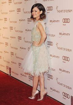 Rachel Bilson wore Spring 2012 Chanel at The Art of Elysium gala in Los Angeles.