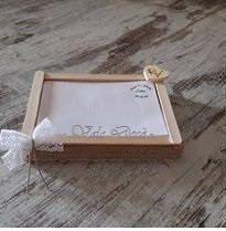 Guest Book matrimonio in legno, pizzo e canapa di ValeDecoHandmade su Etsy