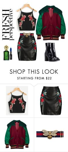 """Fresh perspective"" by bel-ochka ❤ liked on Polyvore featuring Boohoo, Miu Miu, Gucci and N°21"