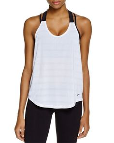 Nike Elastika Elevate Tank. I have this tank in about 10 different colors.  Love it!
