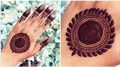 Round Mehndi Design, Back Hand Mehndi Designs, Mehndi Designs Book, Stylish Mehndi Designs, Mehndi Designs For Girls, Mehndi Designs For Fingers, Beautiful Mehndi Design, Mehndi Designs For Hands, Mehandi Designs