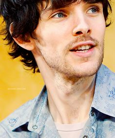 whenever Riordan finishes writing, and they make the last one a movie, there should be an epilogue, with Colin Morgan playing a grown Percy, living happily ever after.