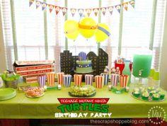 Decoração Festa Infantil Tartarugas Ninjas