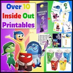 Free Inside Out Free Printables and Crafts   SKGaleana