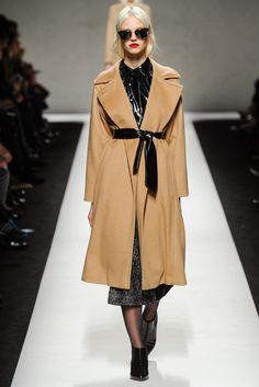Long Camel Coat: MaxMara Fall 14'