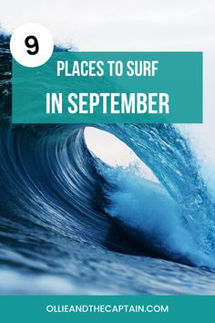 Some of the best surf trips in the world are enjoyed in September, from the warm tropical waters in Nicaragua, a remote experience in Fiji, or a cultural emersion in Hossegor. It's a beautiful thing to say that the world is your oyster, and know that it is true. Here are a few of the world's top spots for surfing in September (it's never too early to start planning). #surfing #surfguide Surf Trip, Fiji, Surfing, September, Around The Worlds, Waves, Culture, Sayings, Lyrics