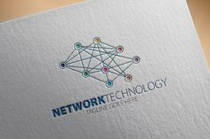 Check out Network Tecnology Logo by samedia on Creative Market