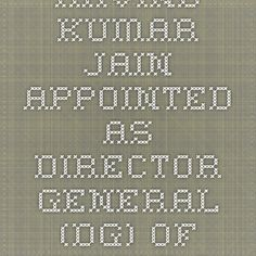 Arvind Kumar Jain appointed as Director General (DG) of Police of Uttar Pradesh | Latest GK Today