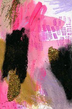 pink, glitter, kitsch