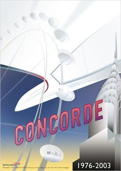 "Concorde. The last ""elegant"" way to travel by air."