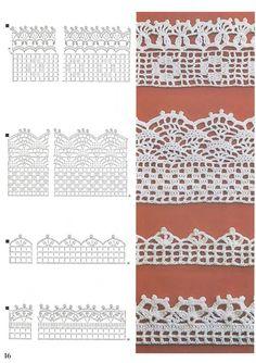 blogspot kr muchas variedades de puntos a crochet patrones crochet ...
