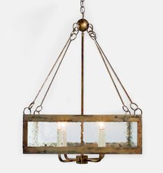 really pretty - barnwood frame and seeded glass - like the bronzey brass ball detail