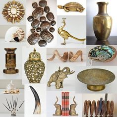 Great gift ideas under $100 at http://ift.tt/1MaoU8T!  #blackfriday #christmasshopping #thepaintedolive #turtleshell #brass #brassfigurine #vase #bookends #horn #porcupine #peacock #firefighter #turtle