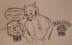 Embarrassing parent.