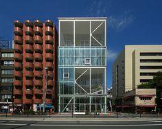 SHIBAURA HOUSE  Architect: Kazuyo Sejima 妹島和世 Location: Shibaura, Minato-ku, Tokyo, Japan Completion year: 2011