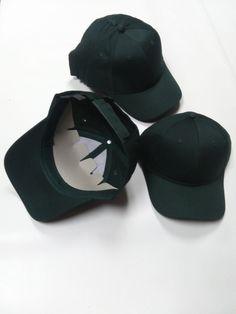 27e875913f4 10 PACK of Six-Panel Twill Caps - HUNTER GREEN  fashion  clothing