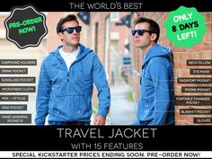 The World's Best TRAVEL JACKET with 15 Features || BAUBAX by BAUBAX LLC — Kickstarter