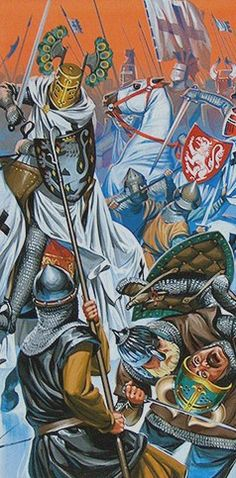 Batalla del Lago Peipus, 1242 - ¿Peter Jackson? ¿Angus McBride?