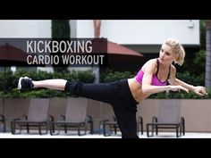 ▶ Kickboxing Cardio Workout - YouTube