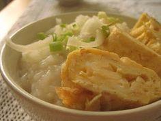Okayu, czyli kleik ryżowy ~ Kurczak w cieście na ostro