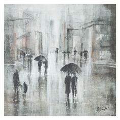 Leftbank Art Come Rain or Come Shine II Canvas Wall Art ($473) ❤ liked on Polyvore featuring home, home decor and wall art